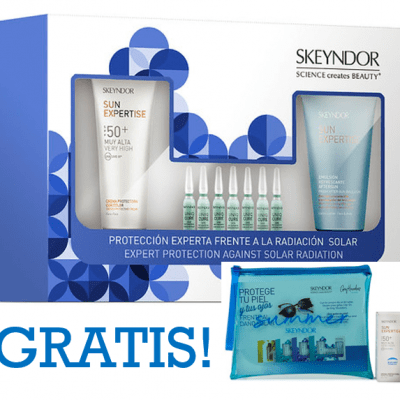 Kit Solar: Crema protectora con color SPF50+ + Concentrado SOS Recovering + Aftersun Emulsión