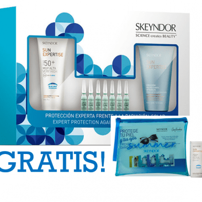 Kit Solar: Crema protectoraSPF50+ Blue Light + Concentrado SOS Recovering + Aftersun Emulsión