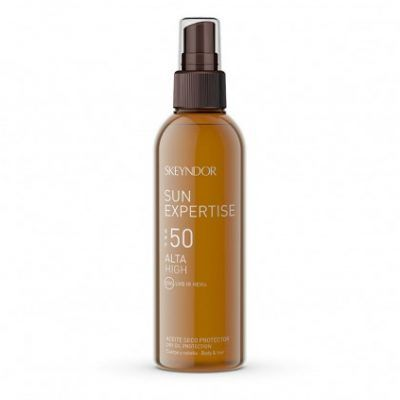 Aceite seco protector SPF50, 150ml.